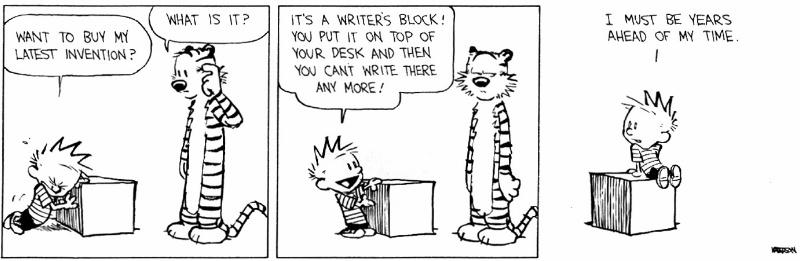 Beating Writers Block